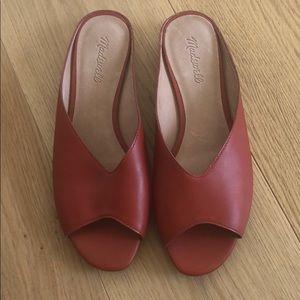 Madewell slip on sandals